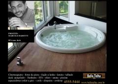 Deck, spa, ofuros, saunas, na bella telha 11-4555-5444 vc encontrará a melhor opção para a sua necessidade. fale conosco