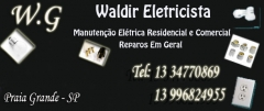 W.g eletricista - manuten��o el�tricas residencial e comercial - reparos em geral- praia grande sp - foto 18