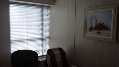 Vista parcial de uma das salas