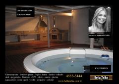 Banheira, banheira com hidromassagem, spa, ofuro, piscina, cascata, piscina de vinil, piscina de fibra, piscina de pastilha, piscina em sp, piscina é na bella telha 11-4555-5444