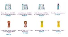 Produtos variados