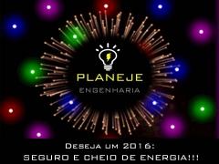 A planeje engenharia deseja a todos um ano novo seguro e cheio de boas energias!!!