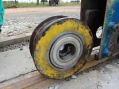 Manutenção em ponte rolante