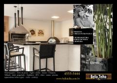 Churrasqueira, churrasqueira com coifa em inox, churrasqueira de alvenaria, churrasqueira de tijolinho, churrasqueira a gas, churrasqueira eletrica, churrasqueira de apartamento, churrasqueira de predio, churrasqueiras é na bella telha 11-4555-5444. este belissimo projeto é de cibele petrangelo