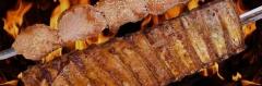 Carne no espeto