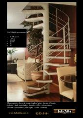 Escada caracol, escada de concreto, escada pre fabricada, escadas direto da fabrica, escada caracol em sp, escada caracol na zona leste, escada caracol no abc, escada caracol preço, escada caracol menor preço é na bella telha 11-4555-5444 www.bellatelha.com.br