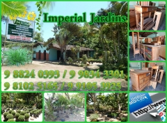 Imperial jardins  viveiro florestal & paisagismo tropical  atendemos a domicilio em ilhéus e região, orçamento sem compromisso.  end.: ilhéus / itabuna, km 3 ilhéus-ba.  e-mail: imperialjardins@outlook.com  contato: 9 8824 0393 oi / 9 9834 3301 vivo / 9 8102 5165 claro / 9 9105 3925 tim  resp. jamil darian  comente nosso blogger.  http://dicasdauniao.blogspot.com.br/2016/03/imperial-jardins-em-ilheus.html?view=timeslide