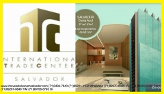 ITC- Internacional Trade Center, Costa Azul, Salvador, Bahia ITC- Internacional Trade Center tem espaços corporativos e salas comercias de 31 a 607m², salas comercias Odontomédico, lavabo, copa. Áreas comuns climatizadas, com elevadores inteligentes, auditório, 10 pavimentos garagem, 13 elevadores, 690 vagas rotativas. A Moura Dubeux traz para Salvador o conceito de sucesso ITC- Internacional Trade Center. Localizado em Costa Azul, Salvador, Um ponto estratégico para os seus negócios. O empreendimento que é uma referência para quem quer se destacar e estar sempre à frente do seu tempo.   Um projeto Cassio Santana Arquiteto.Mais detalhes entre em contato com:  Claudio Borges. +55(71)3494-7843 +55(71)99911-1102 WhatsApp