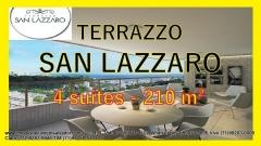 Terrazzo San Lazzaro, Apartamentos 4 suítes, São Lazaro, Federação, Salvador Terrazzo San Lazzaro, um empreendimento de alto luxo, com 4 quartos sendo todos suítes, em 210,95m² de área privativa e uma vista deslumbrante para o mar. O empreendimento será construído em um terreno com 4.333,05m², localizado no bairro de São Lázaro, uma parte tranquila da Federação.  São 63 apartamentos de quatro suítes e uma cobertura distribuídos em 32 andares, sendo que cada um deles com 4 vagas de garagem. Maiores detalhes entre em contato com:  Claudio Borges. +55(71)3494-7843  +55(71)99911-1102 WhatsApp