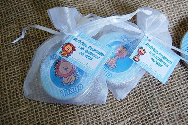 Latinhas Mint to Be - 5x1 e 7x2 na organza ou saquinho de celofane