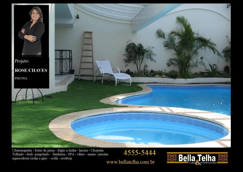 Foto piscina cascata deck ilumina o piscina piscina for Iluminacao na piscina e perigoso