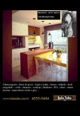 Churrasqueira de varanda, varanda gourmet, churrasqueira para apartamento