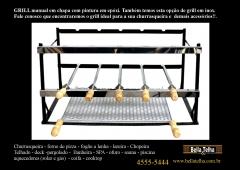 Grill manual, acessorio para churrasqueira, gril giratorio, gril manual, gril elevação, kit elevação, motor de predio, motor para churrasqueira, coifa de churrasqueira
