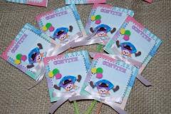 Capa para pirulitos e mini pirulitos para convites e lembrancinhas