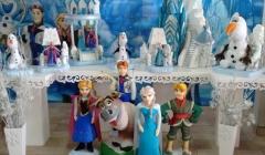 Frozen - tema para montagem em mesa tradicional ou mesa provençal