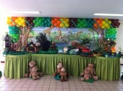 Safari #mariafumacafestas - sua festa temática com requintes de muita aventura