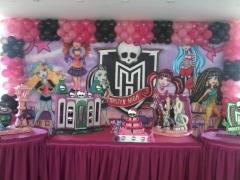 Tema monster high #mariafumacafestas - decoração de festa de aniversário