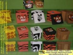 Lembrancinhas de mesa #mariafumacafestas - tema safari