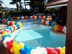 #mariafumacafestas - locações temáticas, serviços de decoração com balões de látex, velinhas personalizadas, lembrancinhas de mesa. veja mais fotos e detalhes também no instagram - http://www.instagram.com/explore/tags/mariafumacafestas/