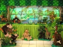 Tema safari #mariafumacafestas - solte os bichos na sua festa de anivers�rio infantil...