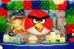 Tema angry birds #mariafumacafestas - sua decoração de aniversário infantil sem