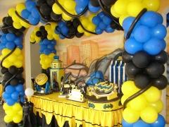 Festa infantil com o batman #mariafumacafestas