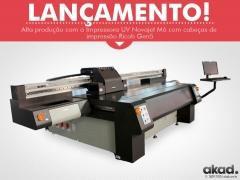 Impressora de grande formato uv