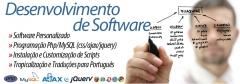 Desenvolvemos softwares customizados em qualquer plataforma. desktop, mobile, web, servidores e dedicados. qualquer base de dados, qualquer funcionalidade e com design exclusivo.