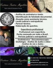 Perícia forense em ciência criminológica - cristiano santoro magalhães - perito forense grafotecnia - foto 6