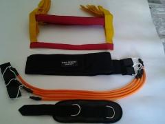 Kit Personal com 3 acessórios = Escada de Agilidade + Cinto Tração 4 Elásticos + Alça de Cross  R$ 149,00
