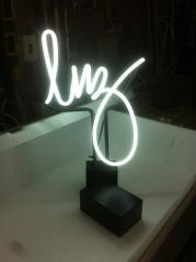 Lumin�ria Neon luz