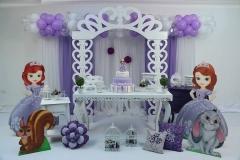 decoração Princesa Sophia