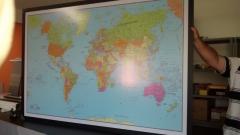 Mapa mundi - laminado