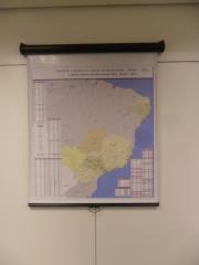 Mapa brasil - retrátil