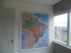 Mapa do brasil - laminado