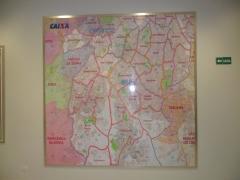 Mapa são paulo - quadro magnético