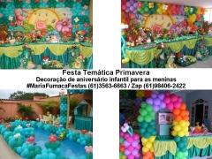 Decoração temática primavera #mariafumacafestas