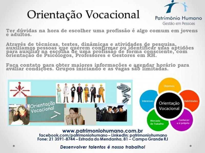 Orientação Vocacional em Campo Grande
