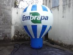 Roof top - balão inflável - 3m