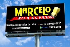 Marcelo silk screen marcaÇÃo de sacarias de cafés em areado sul de minas