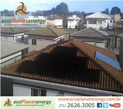 Nova instalação de energia solar em condomínio residencial