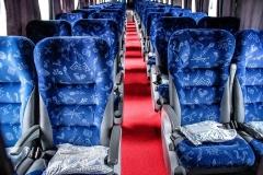Para torna sua  viagem e passeios mais  agradáveis temos ônibus confortáveis, com ar-condicionado , poltronas reclináveis, com TV e DVD, tudo para o seu conforto.