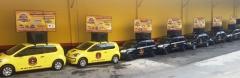 Frota de carros de som de porte pequeno - giguinhas