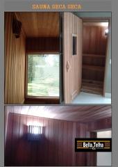 Sauna seca da bella telha