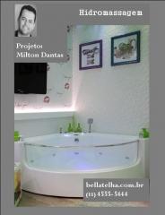 spa e banheira de hidromassagem