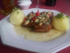 Filé de pintado à belle munière. o sabor, o requinte e a beleza da culinária francesa!