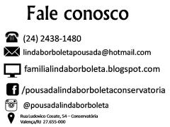 Pousada Linda Borboleta Conservatória- RJ  - Foto 1
