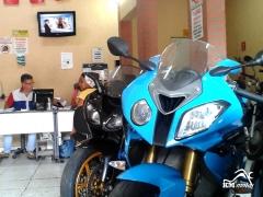 Estrutura da loja de motos seminovas - km motos
