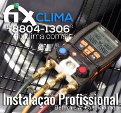 Fix clima - instalação de ar condicionado blumenau