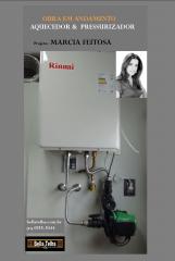Aquecedor a gás com pressurizador, pressurização, aquecimento a gás, ou solar, sistema de recirculação bella telha www.bellatelha.com.br . projeto da arquiteta marcia feitosa